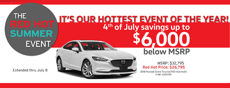 Capistrano Mazda 4th of July discounts up to $6,000 below MSRP