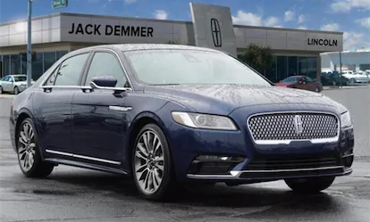 Certified Pre-Owned 2017 Continental