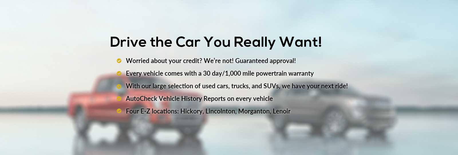 Used car dealer in concord nc serving charlotte gastonia html autos - Learn More About E Z Way Auto