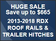 Huge 2013-2018 RDX Accessories Sale