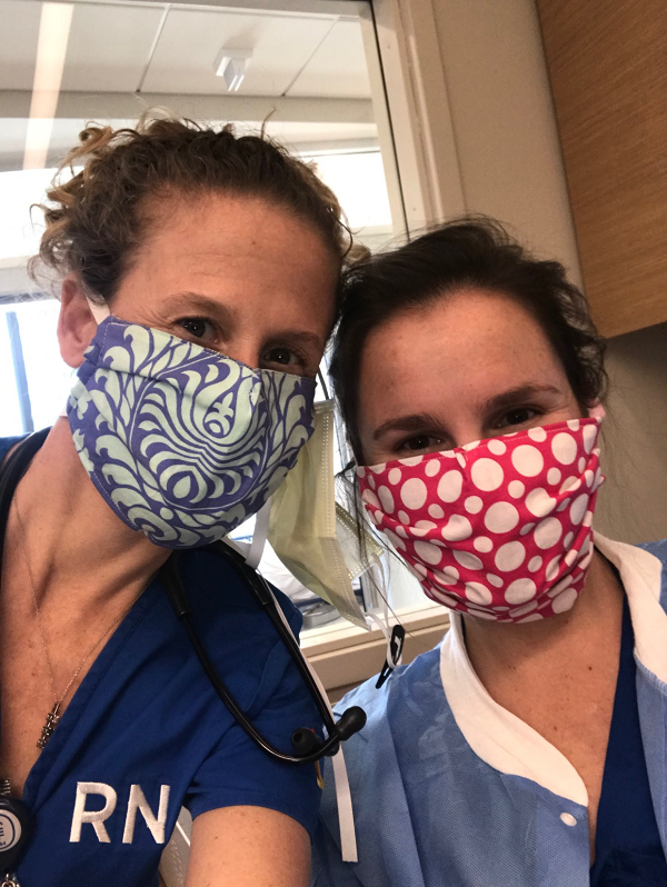 Joyce Koons Healthcare Workers Using Our Masks