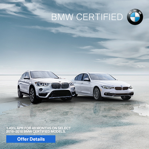 BMW Certified February