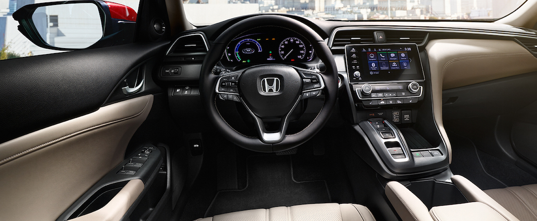 The interior of the 2019 Honda Insight Hybrid