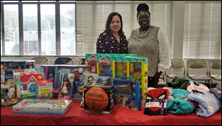 Toy and Clothing Drive A Success
