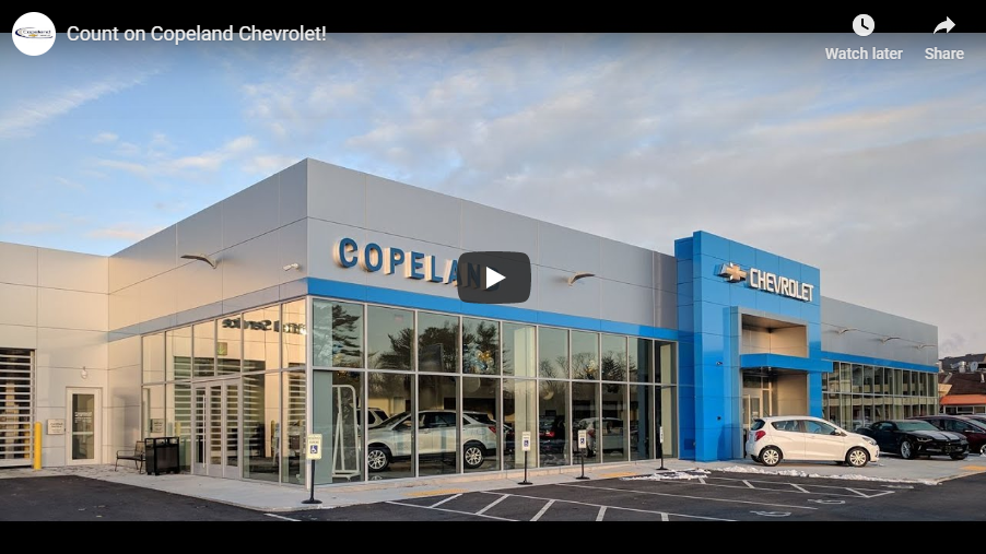 Count on Copeland Chevrolet!