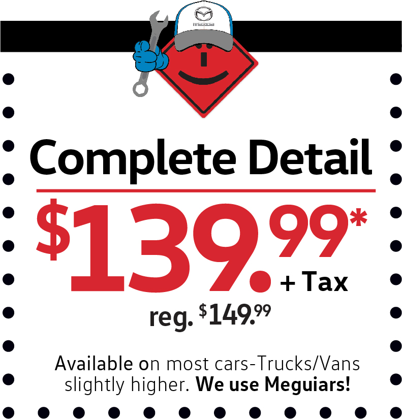 Complete Detail $139.99+Tax