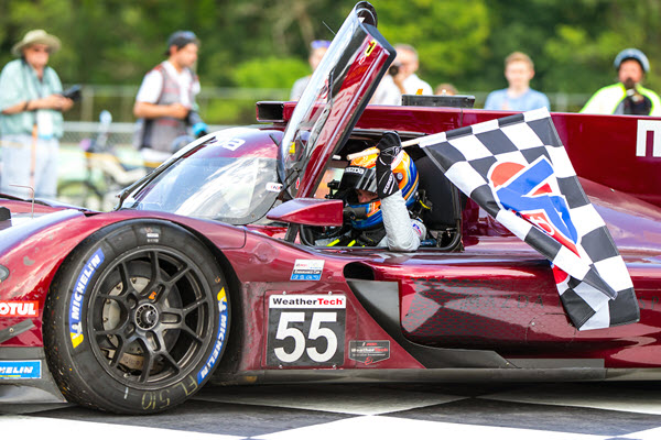 Road America Victory Makes it Three in a Row