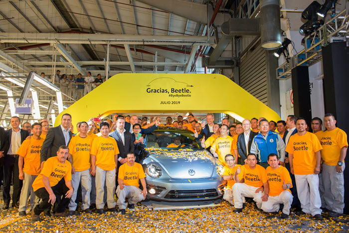 Last Volkswagen Beetle Rolls off the Assembly Line this Month in Mexico