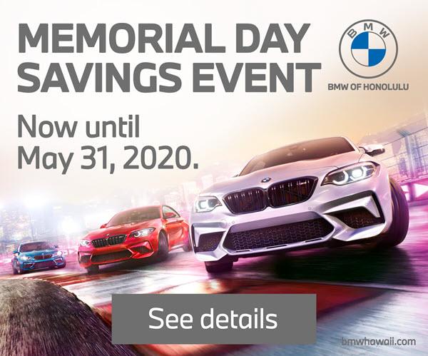 BMW Memorial Day Savings Event
