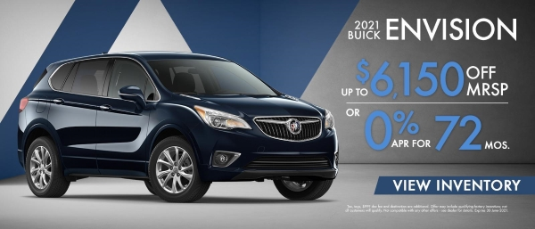 2021 Buick Envision Special