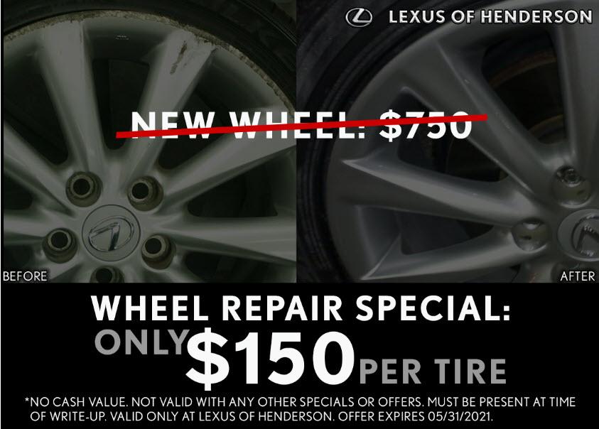 Wheel Repair Special