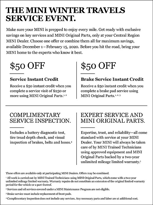 MINI Service Specials