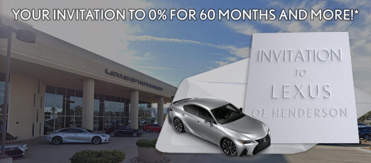 Invitation to Lexus of Henderson