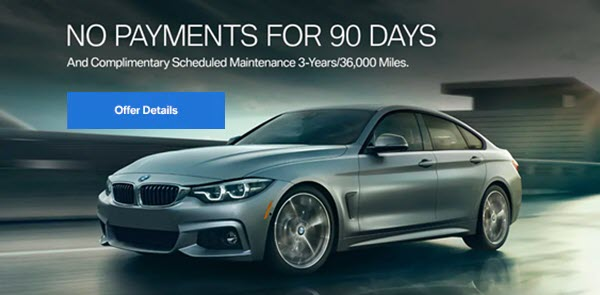 No Payments for 90 Days And Complimentary Scheduled Maintenance for 3 Years/36,000 Miles.