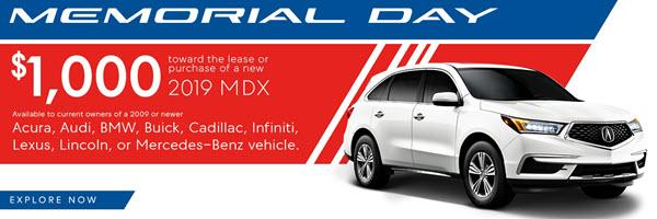 Memorial Day MDX Deal