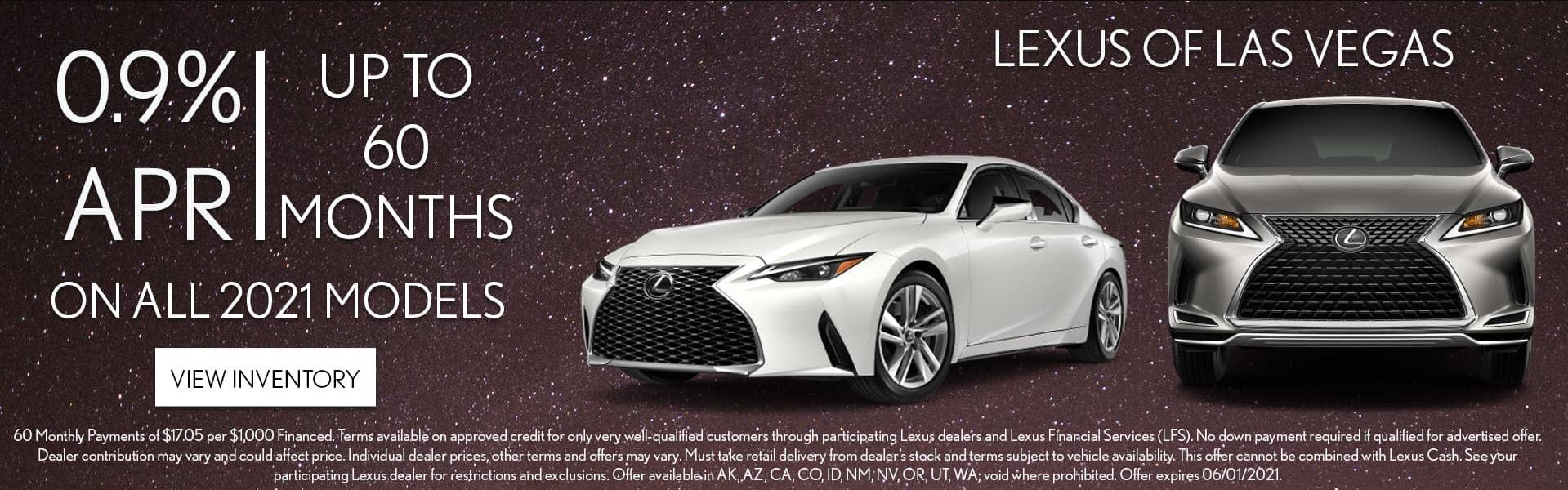 Lexus of Las Vegas May Deals