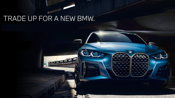 Trade up for a new BMW