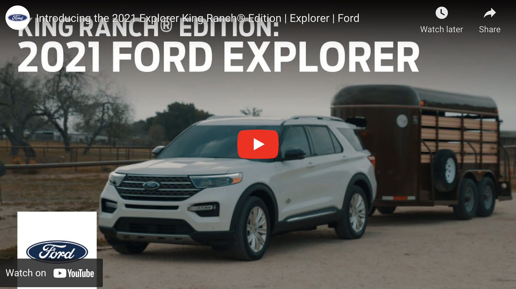 Ford Explorer King Ranch Play Video
