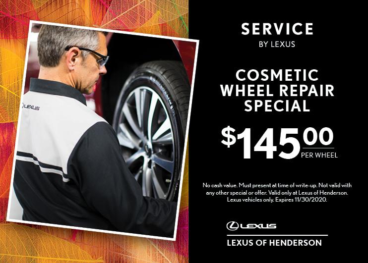 Cosmetic Wheel Repair Special