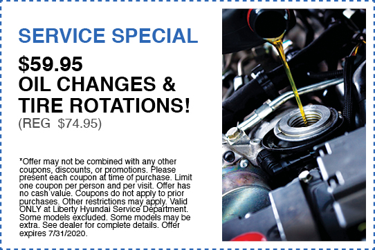 $59.95 Oil Changes & Tire Rotations