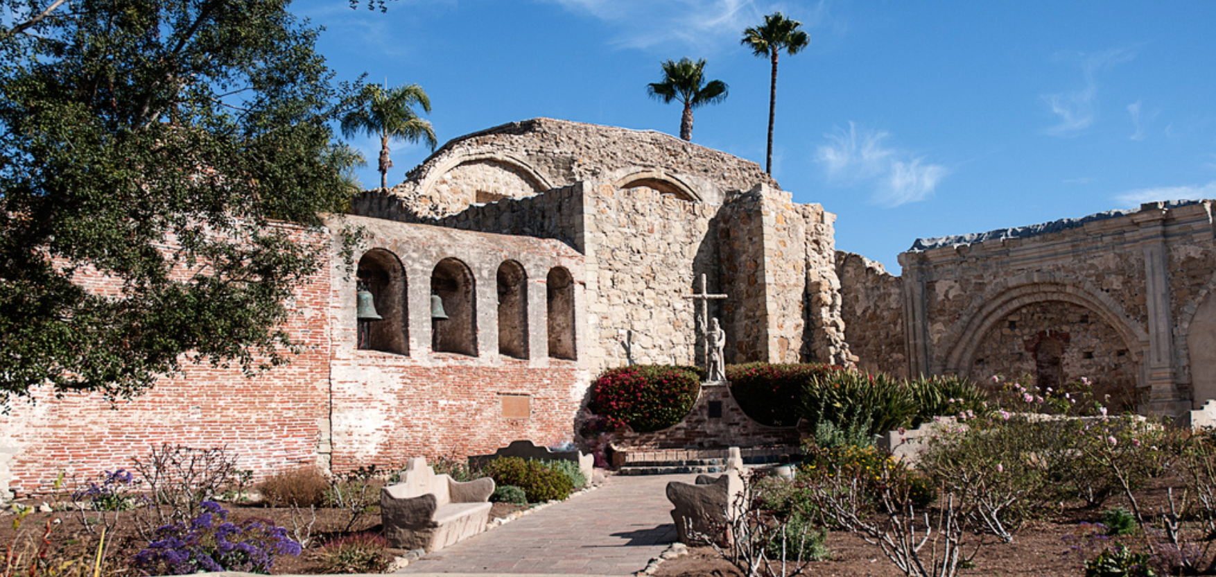 MISSION SAN JUAN CAPISTRANO HAS REOPENED