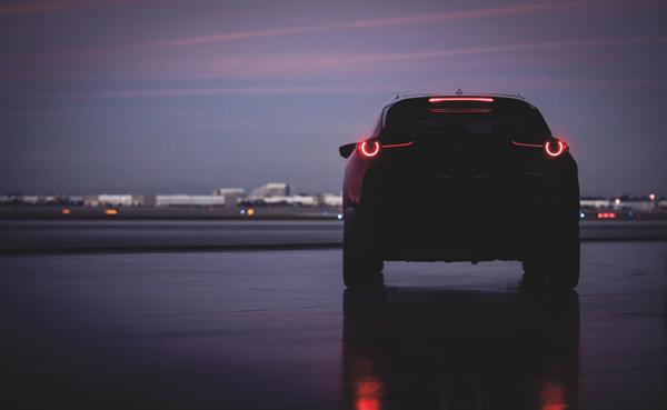 Mazda Vehicle At Night