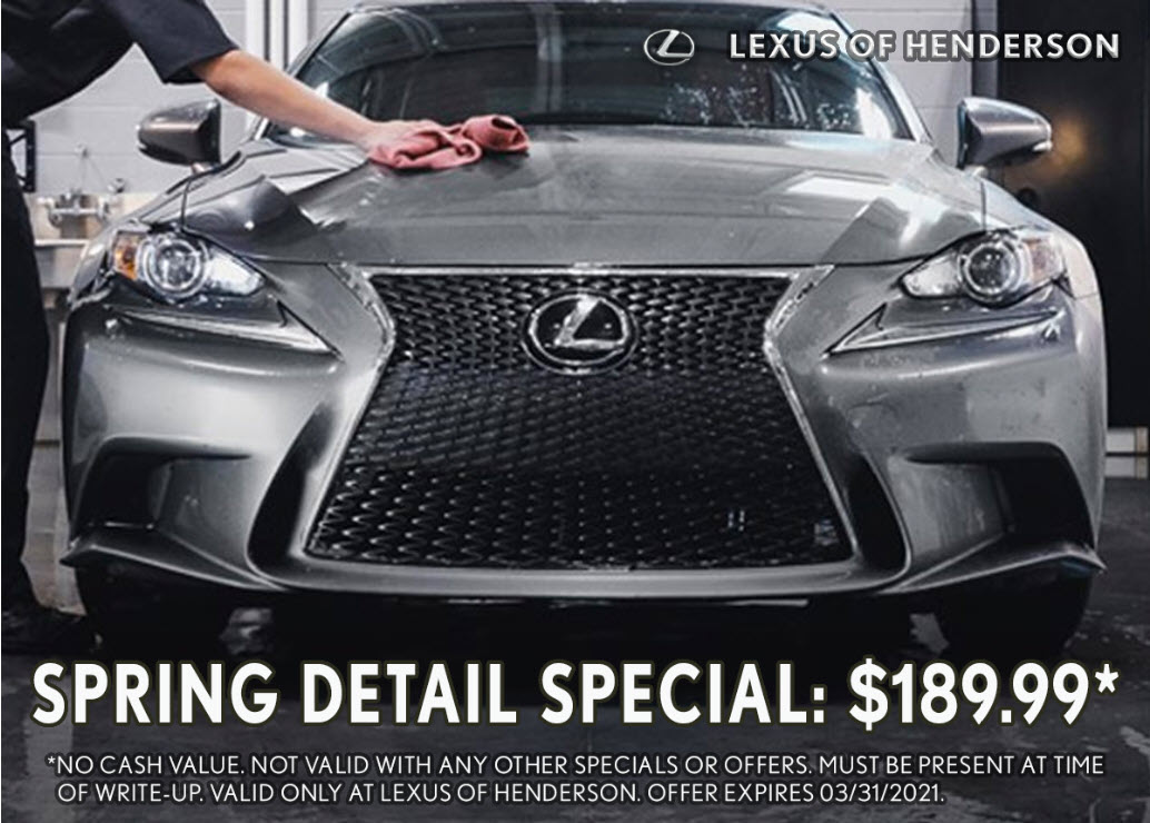 $189.99 Spring Detail Special