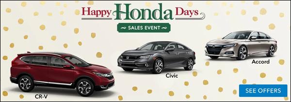 Happy Honda Days from Walnut Creek Honda