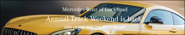 Join us June 15th and 16th for our 11th Annual Track Weekend
