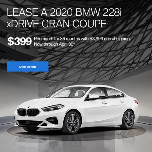 BMW April Lease