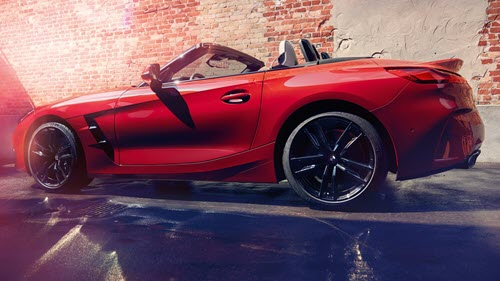 Test Drive the All-New Z4