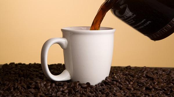 Coffee Poured in Mug
