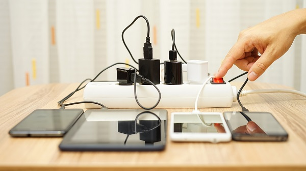 Electronics Plugged In