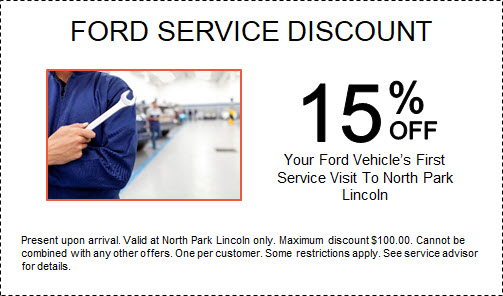 Ford Service Discount