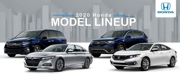 2020 Honda Lineup