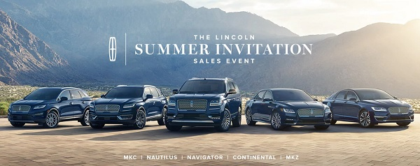 Drive Your Summer With Lincoln