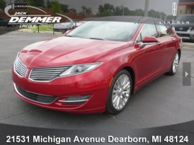 Certified Pre-Owned 2015 Lincoln MKZ