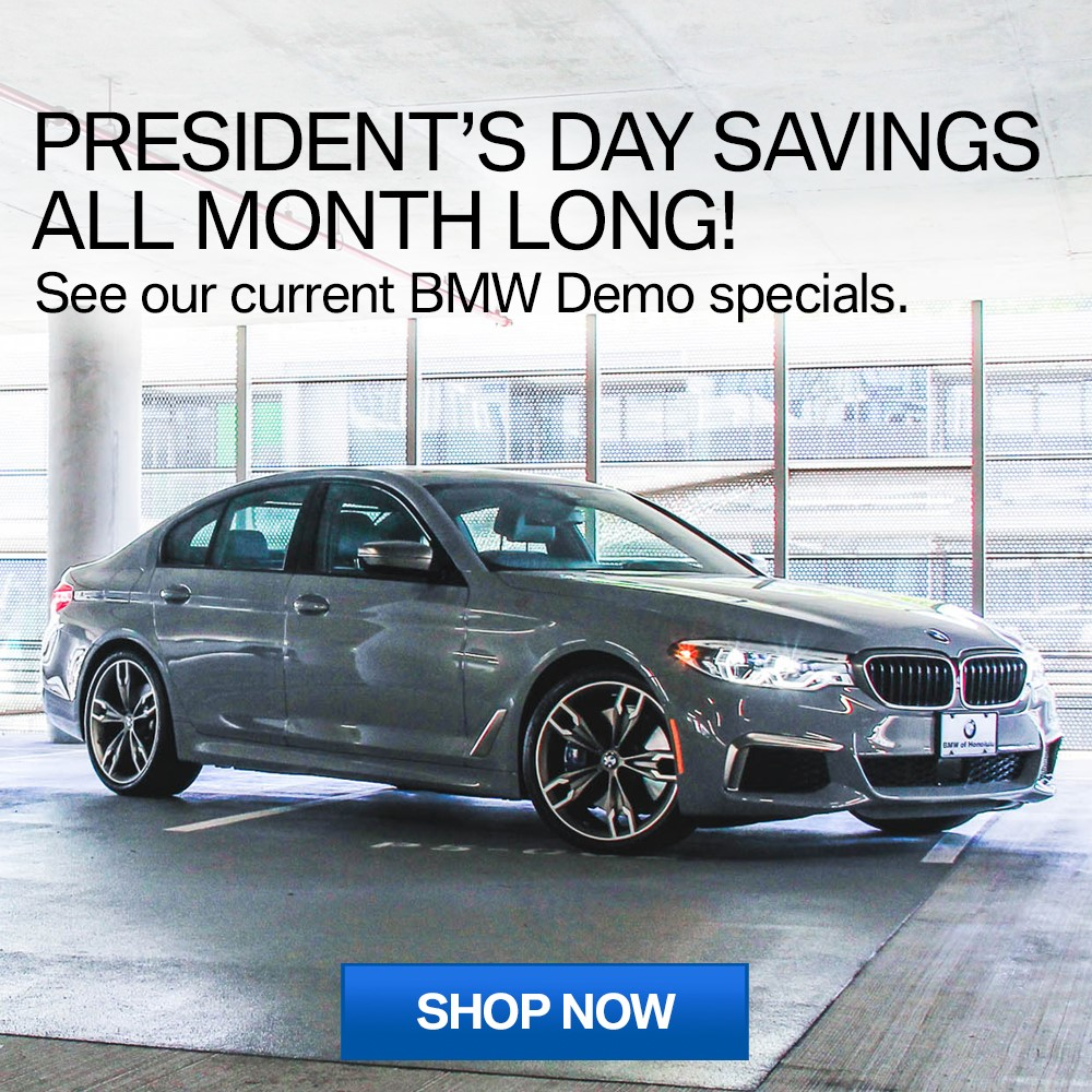President's Day Demo Specials