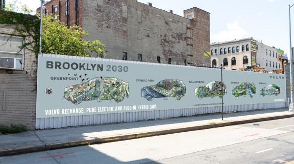 Volvo Mural Brooklyn