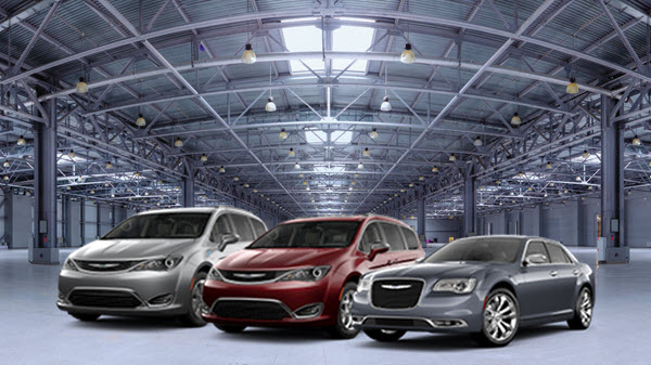 Chrysler lineup - architectural background