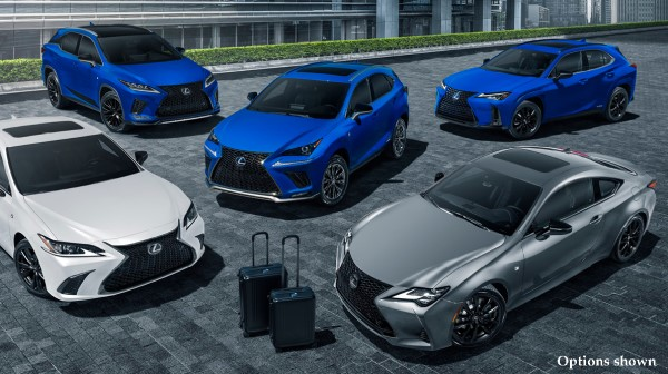 2021 Lexus Black Line Special Editions