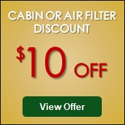 Cabin or Air Filter Discount