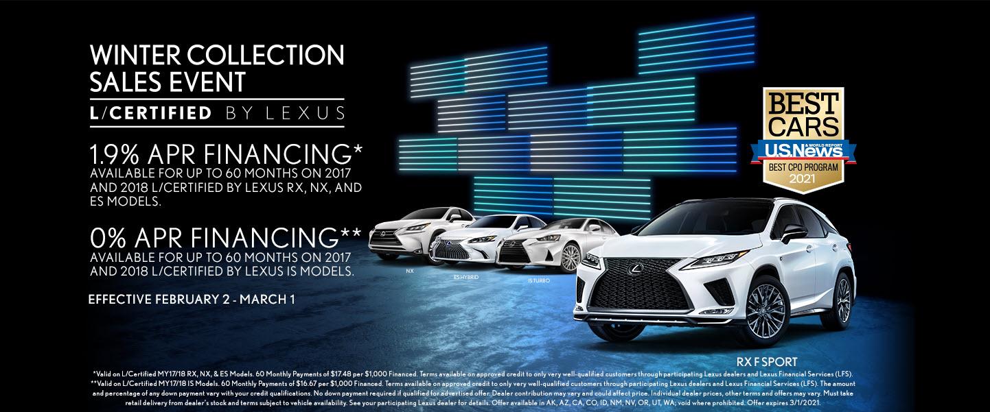 L/Certified By Lexus