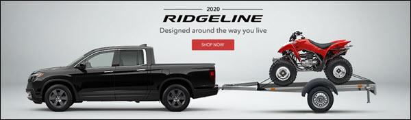 The New 2020 Honda Ridgeline