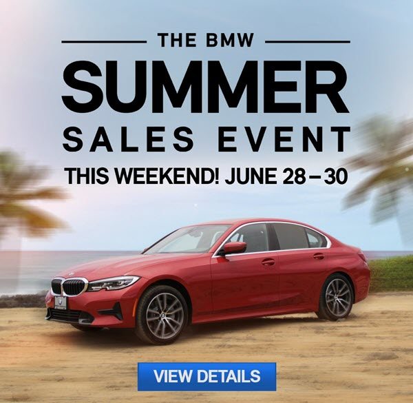 BMW Summer Savings Event