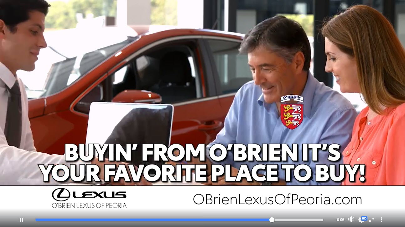 Buyin' from O'Brien, it's your favorite place to buy.