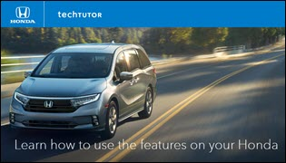 Learn About Your Honda with Technology Tutor