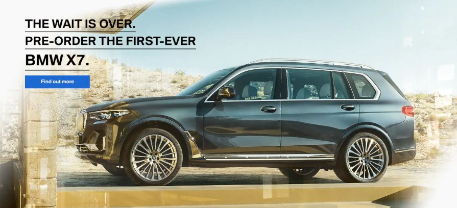 The Wait is Over, Now Accepting Pre-Orders for the 2019 BMW X7