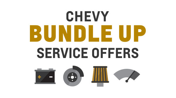 Chevy Bundle Up Service Offers