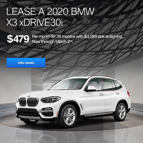 X3 xDrive 30i Lease